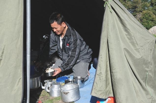 Karmâ, le cuisinier