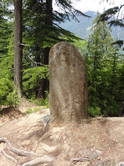 Un monolithe qui fait l'objet d'un culte