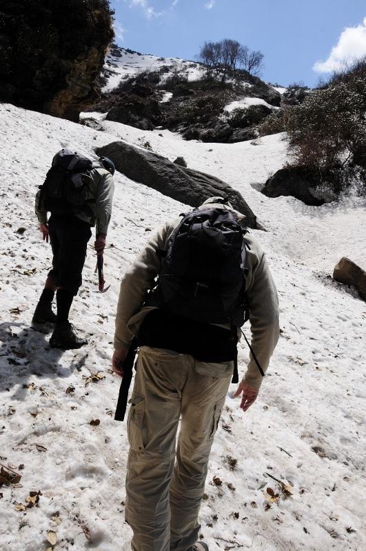 On se croirait en train de faire de l'alpinisme