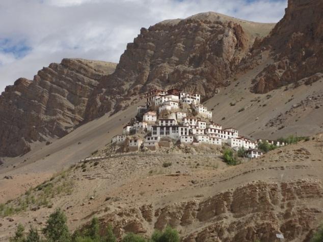 Le monastère de Kye