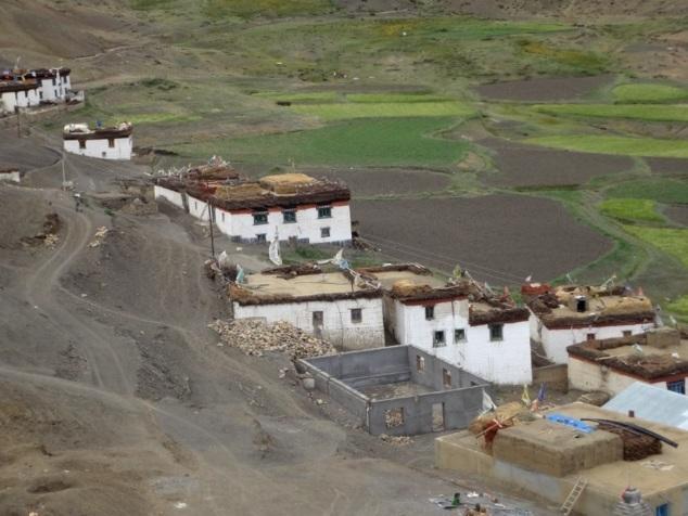 Langza, un tout petit hameau