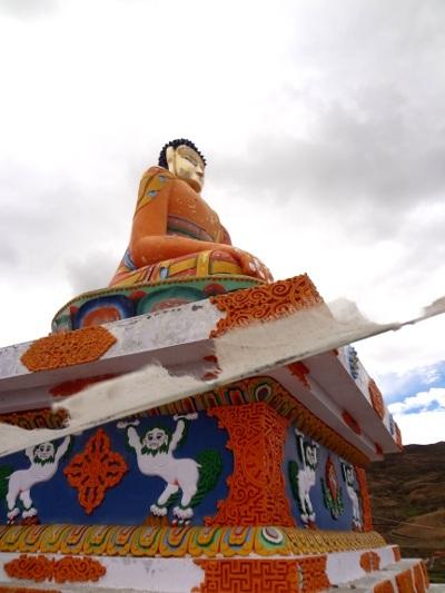 Ce Bouddha a été offert par un généreux donateur