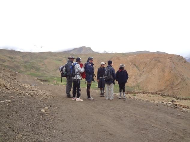 Départ du trek vers Lhalung