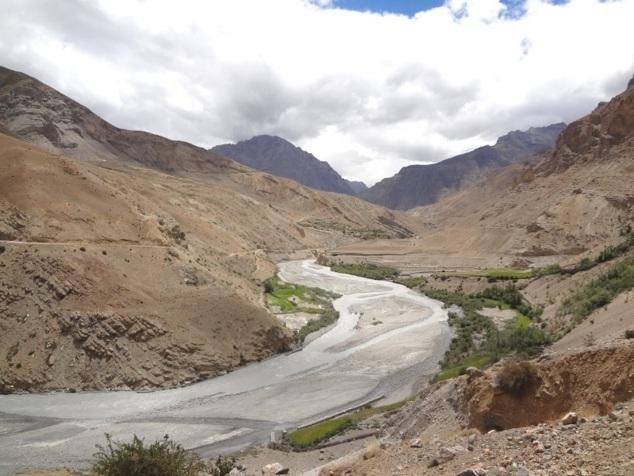 La rivière Lingthi