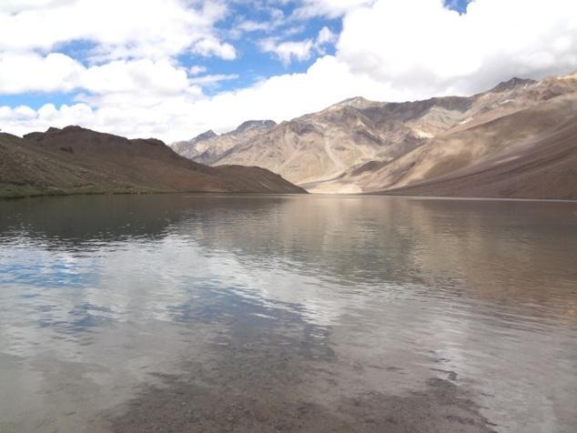 Le lac Chandra