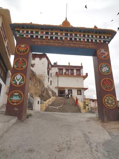 Portique du monastère de Kye