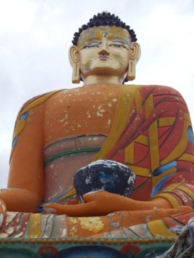 Bhouddha géant près du village de Langza