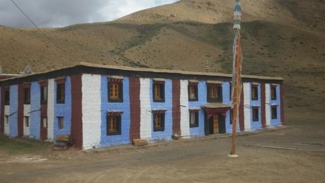 Monastère à Kaumik (nouveau bâtiment)