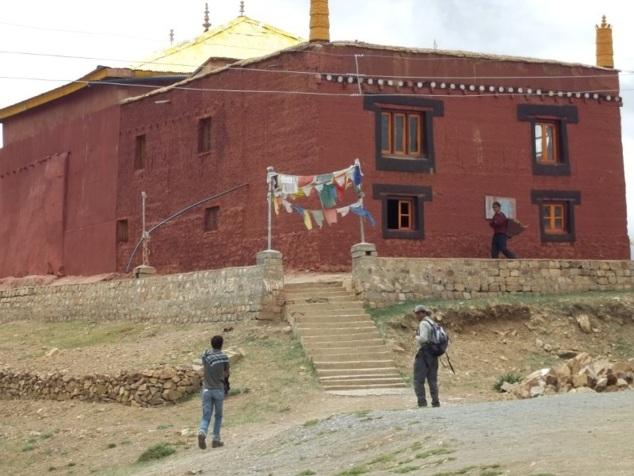 Le gompâ de Tangyud  (village de Kaumik)