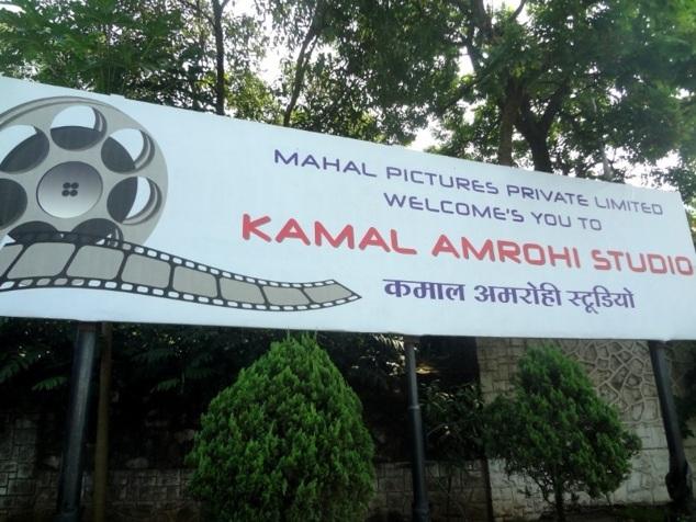 Studio Kamal Amrohi. Pas de photos ...