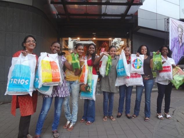 Mumbai, paradis du shopping ... les sourires en attestent