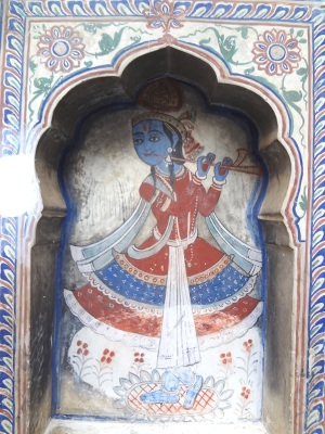 Le dieu Krishna