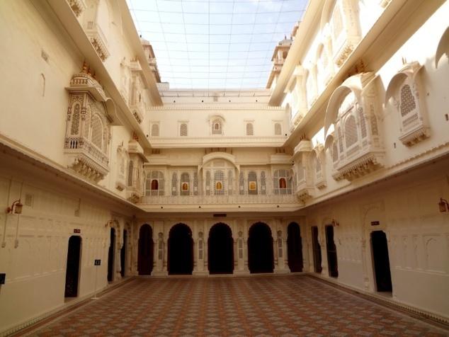 Au coeur de la forteresse : la 3ème cour intérieure.