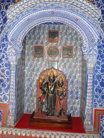 Vishnu et Lakshmi dans le Badal Vilas.
