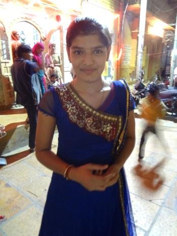 Une jeune femme à la veille de son mariage.