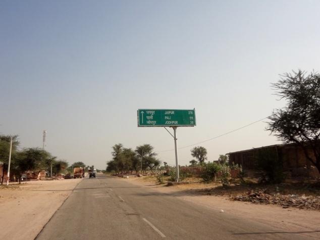 En route vers Jodhpur.