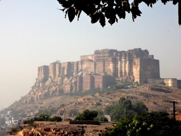 La forteresse de Jodhpur.