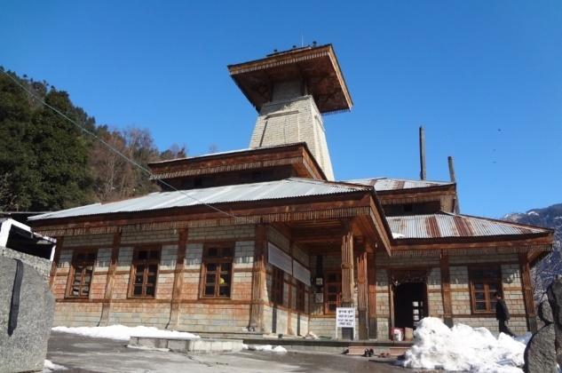 Le temple de Manu
