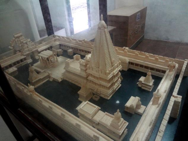 Maquette du temple