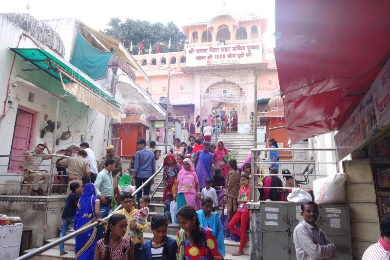 Le temple de Brahma