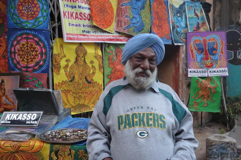Enfin, je vous présente Kikasso, le Picasso indien