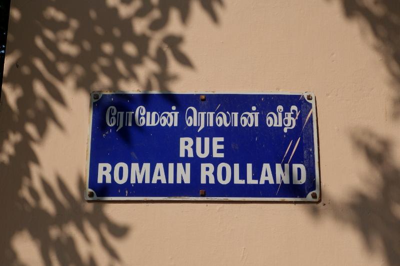 Les rues portent encore des noms français