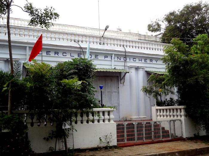 Le cercle de Pondichéry juste à côté du palais