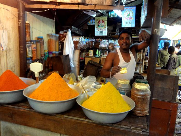 Vendeur d'épices