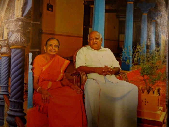 Un Chettiyar et son épouse, ancien grand industriel maintenant à la retraite. Il a transformé sa demeure en hôtel.