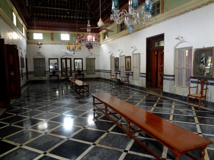 Deux architectes français se sont régalés en travaillant à la restauration d'une demeure Chettiyar.