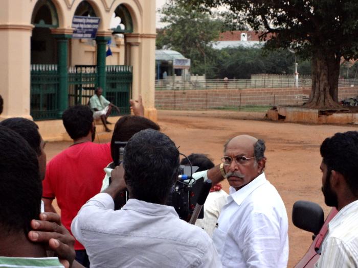"""Nasser, un grand acteur du cinéma tamoul (ou """"Kollywood"""")."""