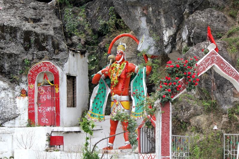 Hanuman, le dieu singe, général en chef de l'armée de Râma