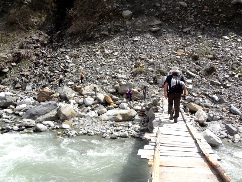 Randonnée à Solang