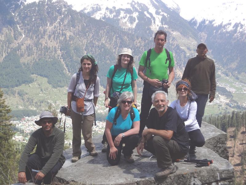 Dernière randonnée, dernier sommet. Merci à nos guides !