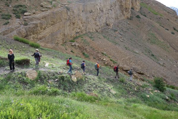 Descente dans un canyon