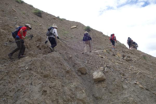 En route vers le sommet